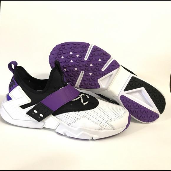 hot sale online 1e622 020b7 Men's Nike Air Huarache Run 91 White Sneakers NWT